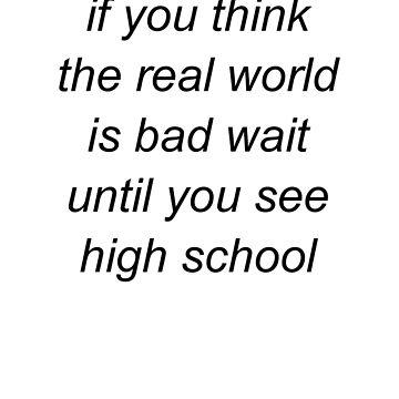 high school by ghostlypost