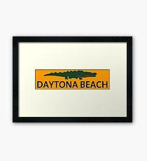 Daytona Beach. Framed Print