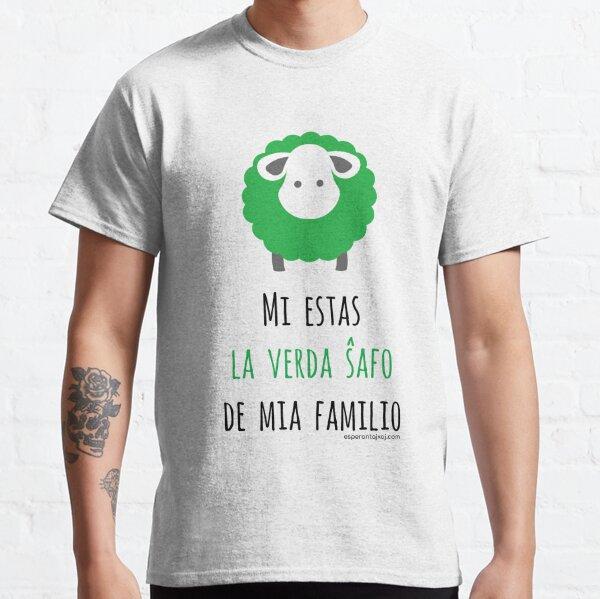 Mi estas la verda ŝafo de mia familio Classic T-Shirt