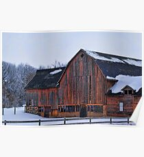 Manning Trail Barn Poster