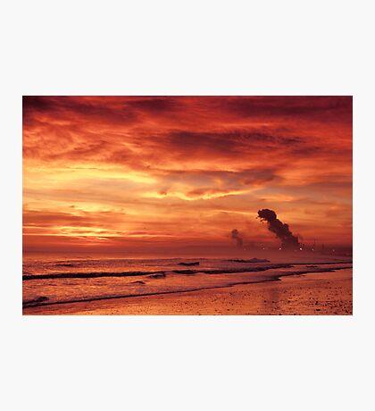 Teesbay Sunrise (1) Photographic Print