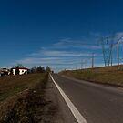 On the Road,Montegibbio,Italy. by Davide Ferrari