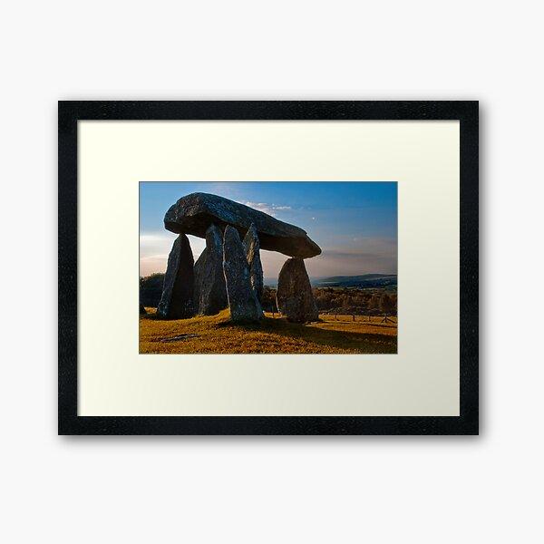 Cromlech Framed Art Print