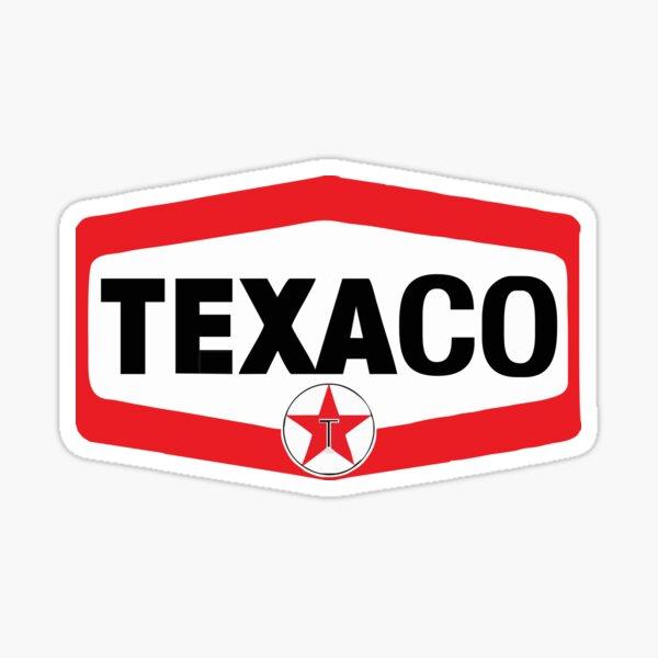 Meilleure vente Texaco Racing Merchandise Sticker