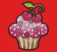 Cherry Berry Cupcake