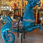 Hippocampus carousel ride by endomental Artistry