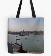 A Panoramic View of Venice Tote Bag