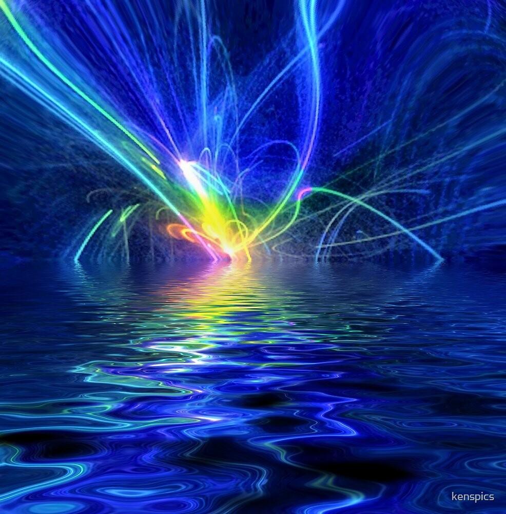 Laser Lightning by kenspics
