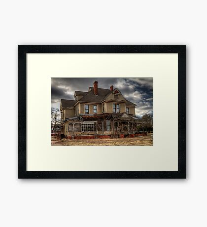 Fixing Up the Fixer-Upper Framed Print
