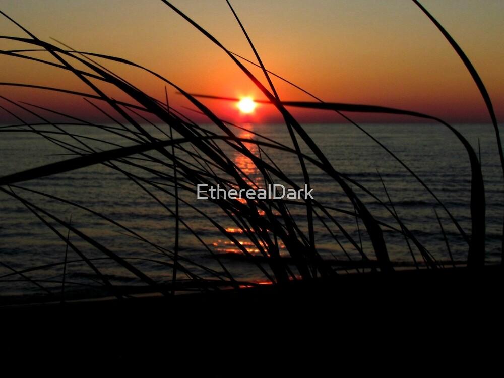 Sunset - Lake Michigan by EtherealDark