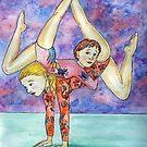 Gymnastics by DarkRubyMoon