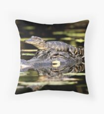 Like Mother, Like Baby #2 Throw Pillow