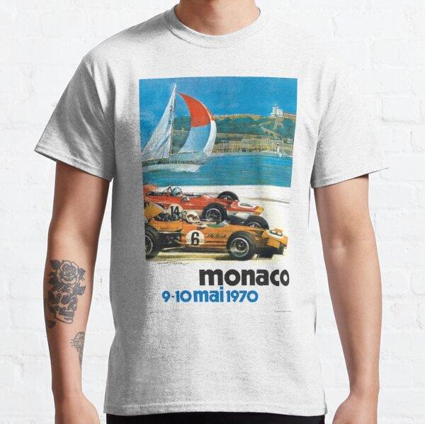 Poster du Monaco Grand Prix 1970 T-shirt classique