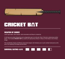 Zombie Weapons - Cricket Bat