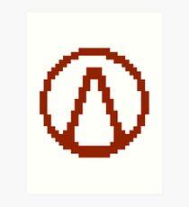 Vault Symbol Art Print