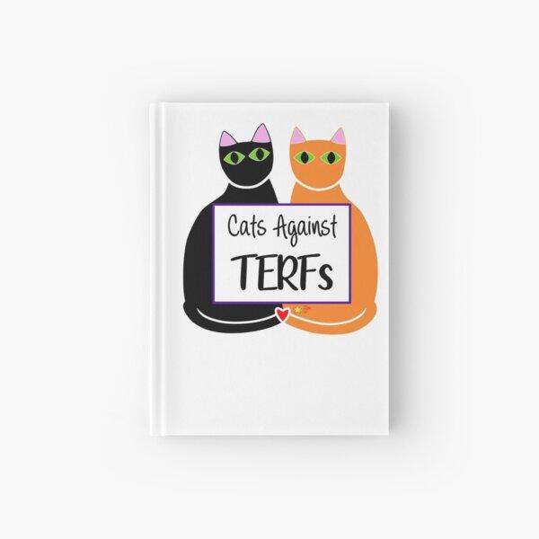 Cats Against TERFs Hardcover Journal