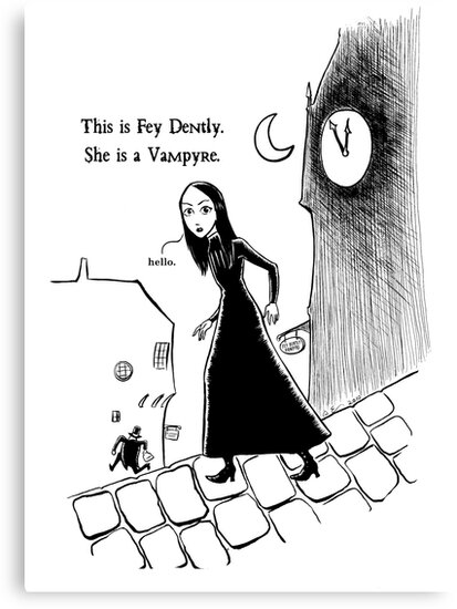 Fey Dently, Vampyre by Elizabeth Watasin