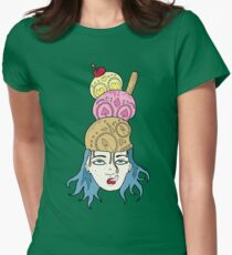 Brain Freeze Women's Fitted T-Shirt