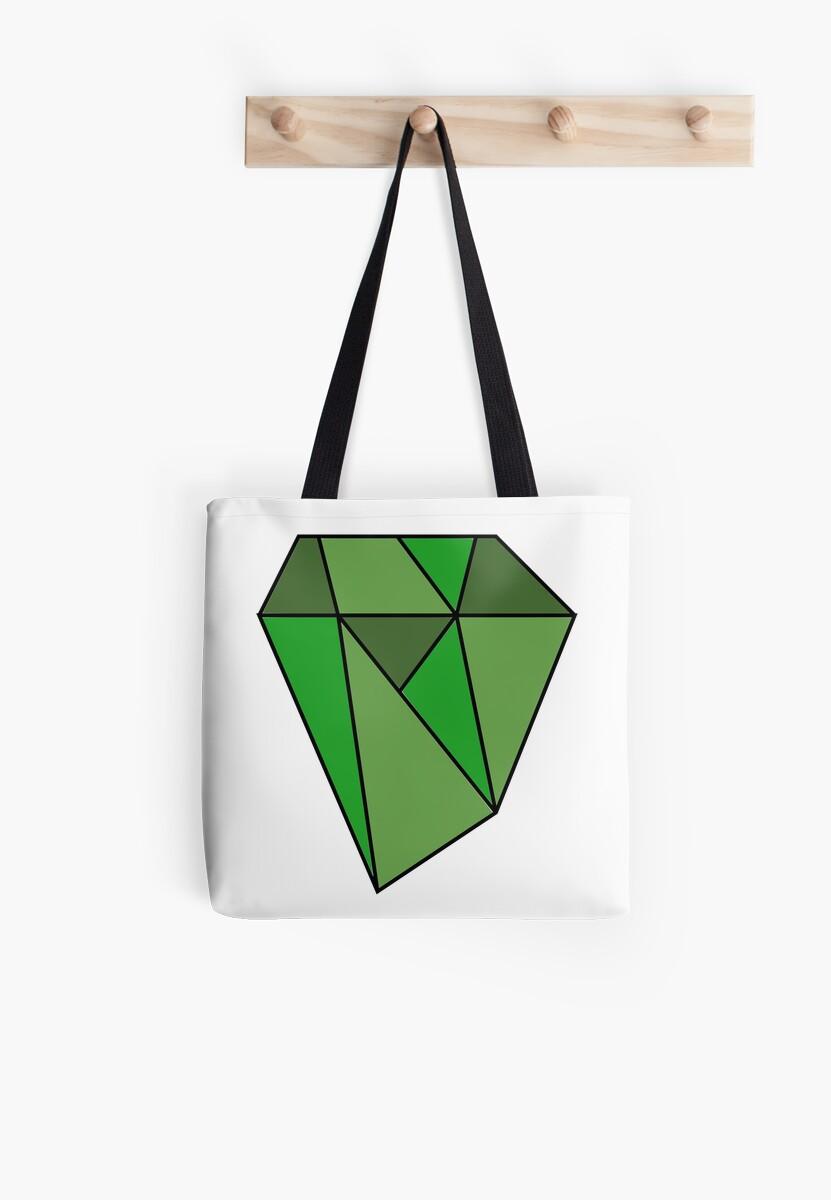 Green Diamond by Michael Haddad