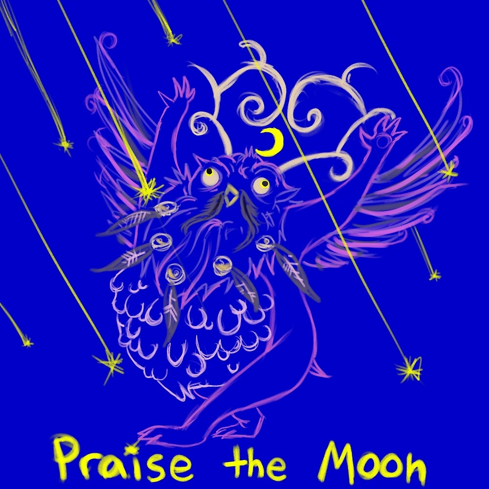 Praise the moon by Trisitella