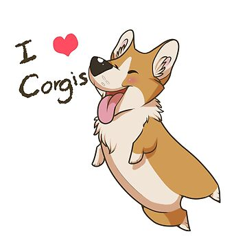 I Heart Corgis by FranticPaws