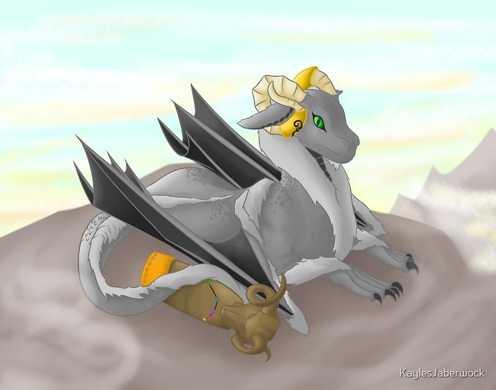 Aries Dragon  by KaylesJaberwock