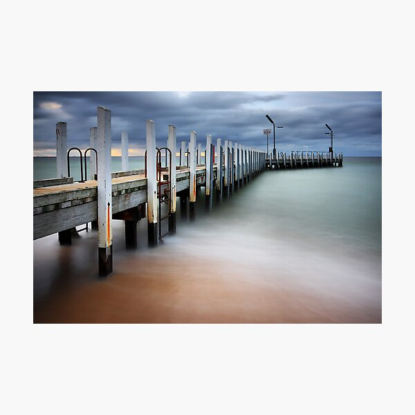 Safety Beach Jetty Photographic Print