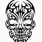 «Tribal Skull» de Luke Webster