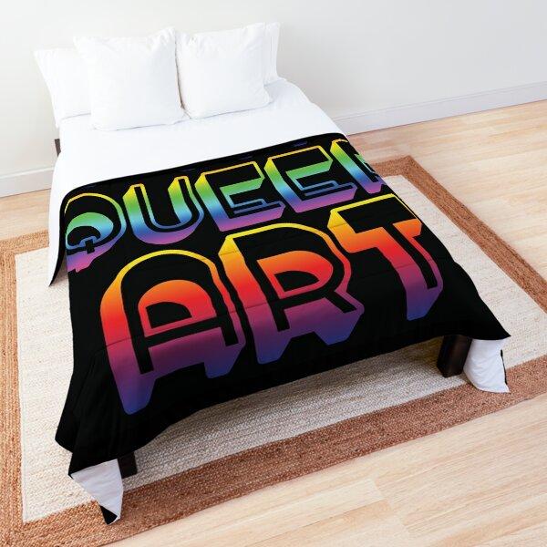 Fat. Queer. Art.  Comforter