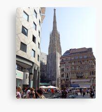 St. Stephen's Plaza, Vienna, Austria Canvas Print