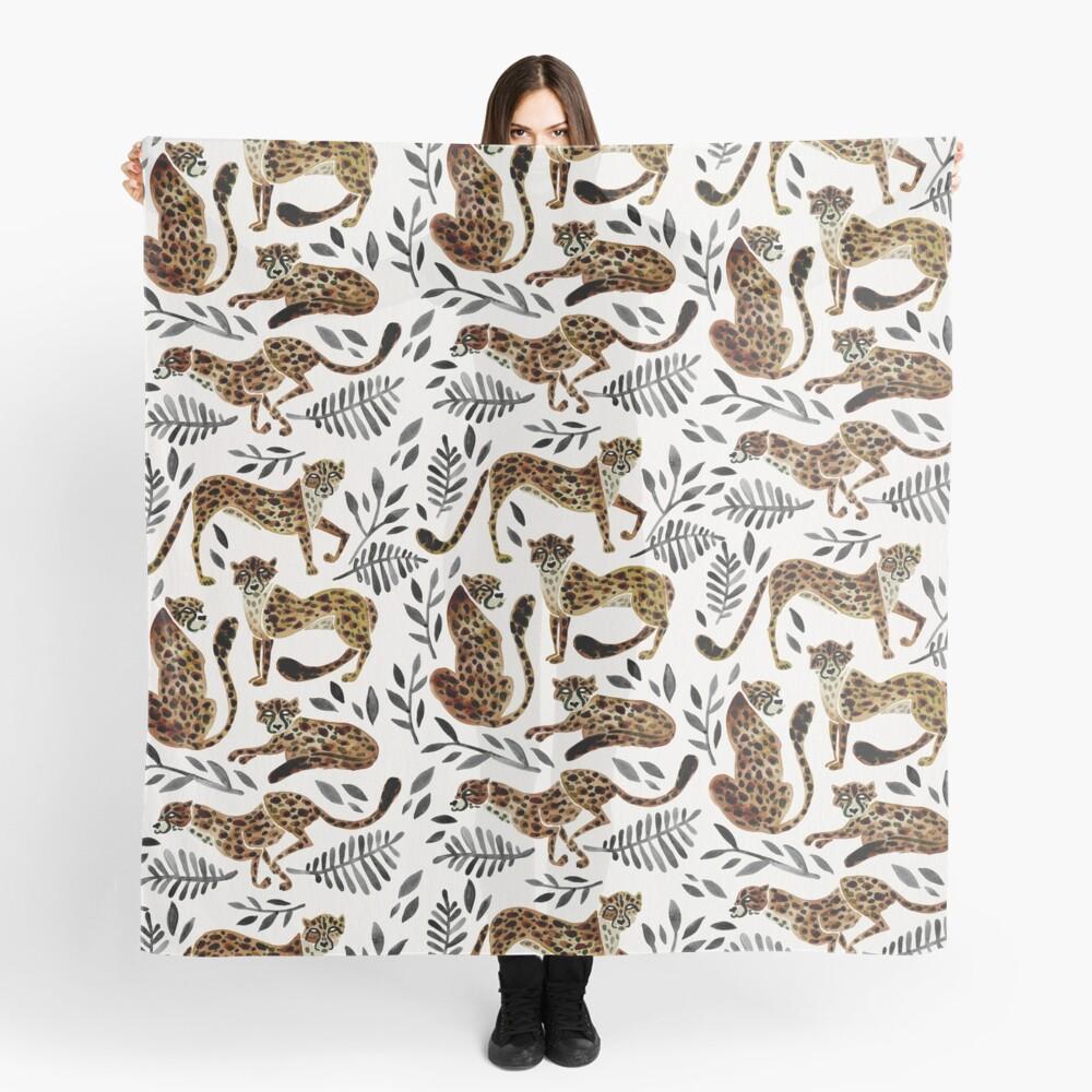 Cheetah Collection – Mocha & Black Palette Scarf