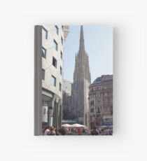 St. Stephen's Plaza, Vienna, Austria Hardcover Journal