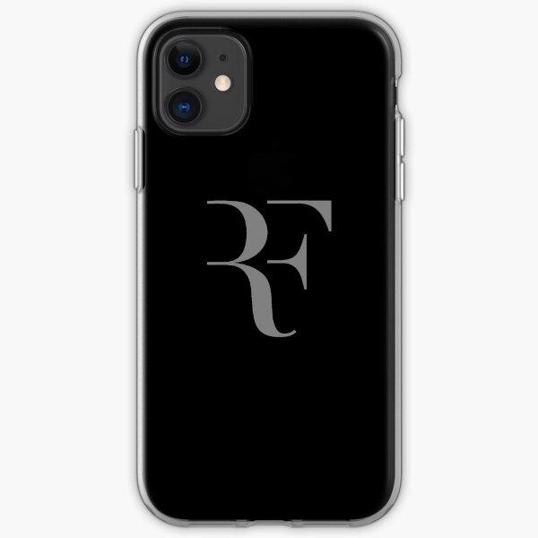 Roger Federer Logo Tok Grey iPhone Soft Case
