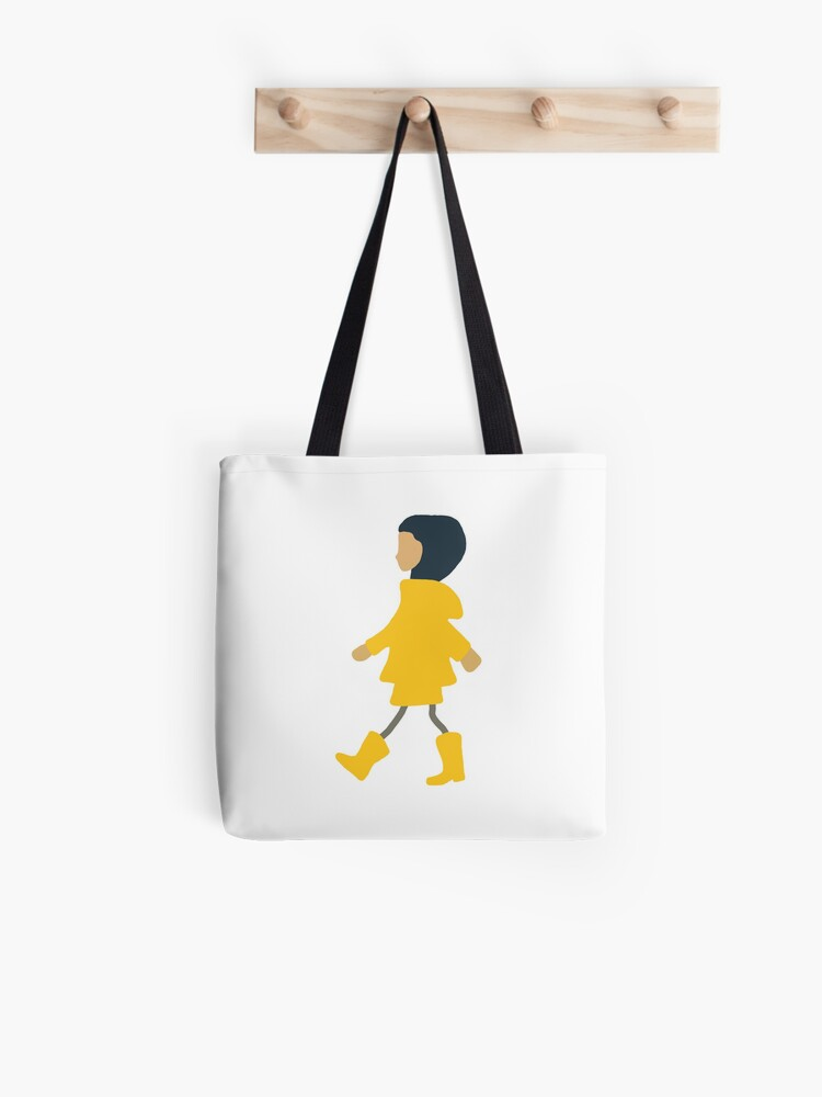 Coraline Drawing Tote Bag By Camiherrera Redbubble