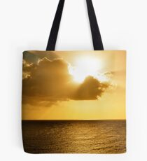 The clouds are clearing and things are looking bright on the horizon... Tote Bag
