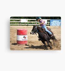 Little Cowboy Canvas Print