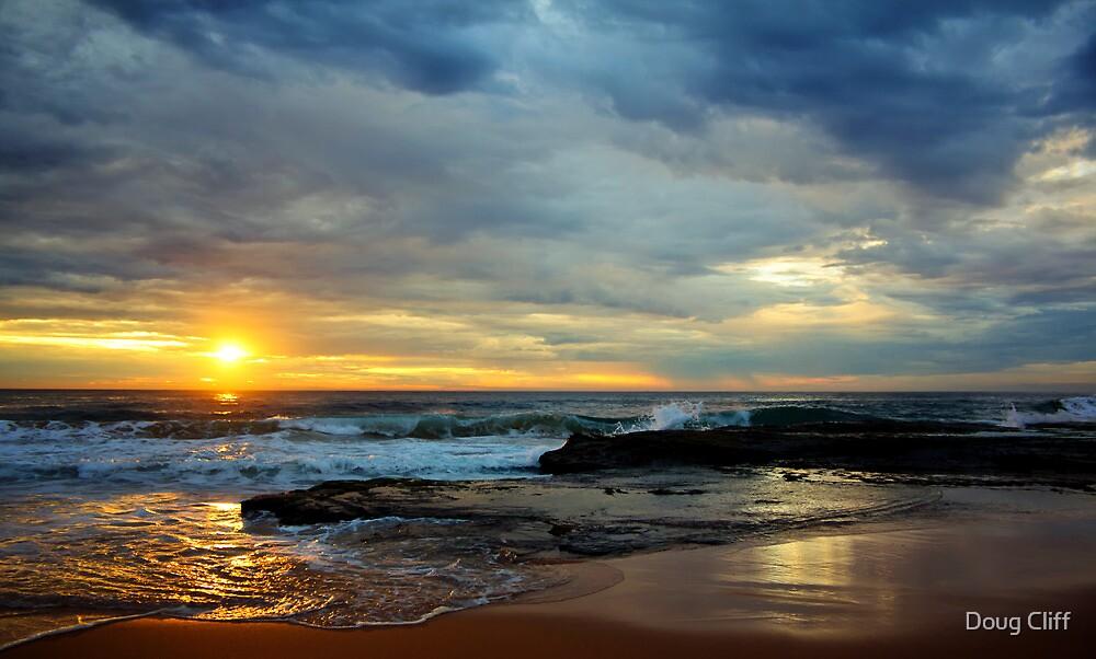Turimetta sunrise Sat 12 Feb 11 by Doug Cliff