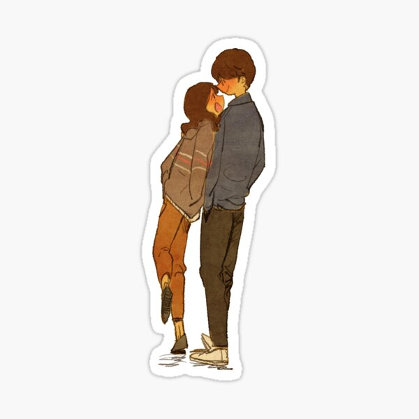 A walk Sticker