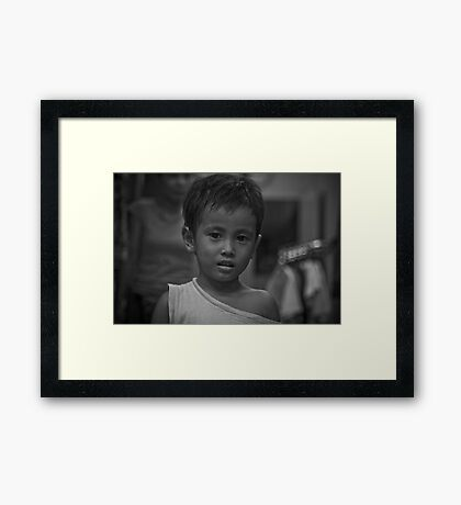 The Curious Child Framed Print