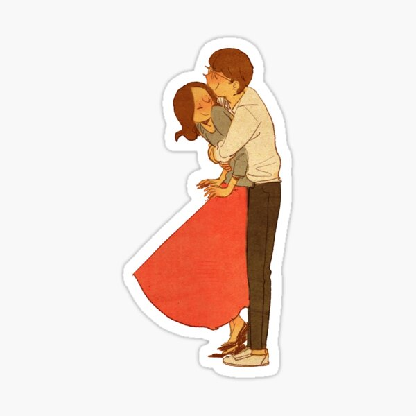 Hold me tight Sticker