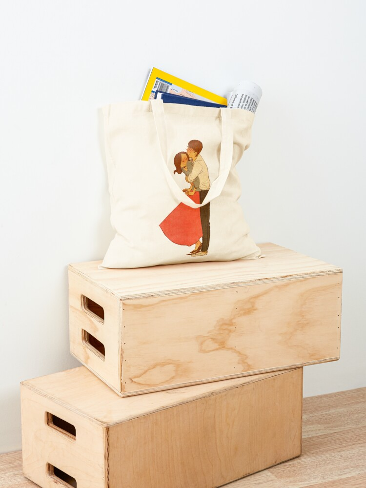 Alternate view of Hold me tight Tote Bag