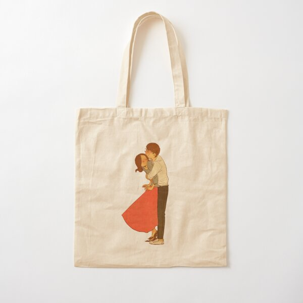 Hold me tight Cotton Tote Bag