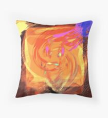 high as a kite smile gone... the reality of crashing down to earth Throw Pillow
