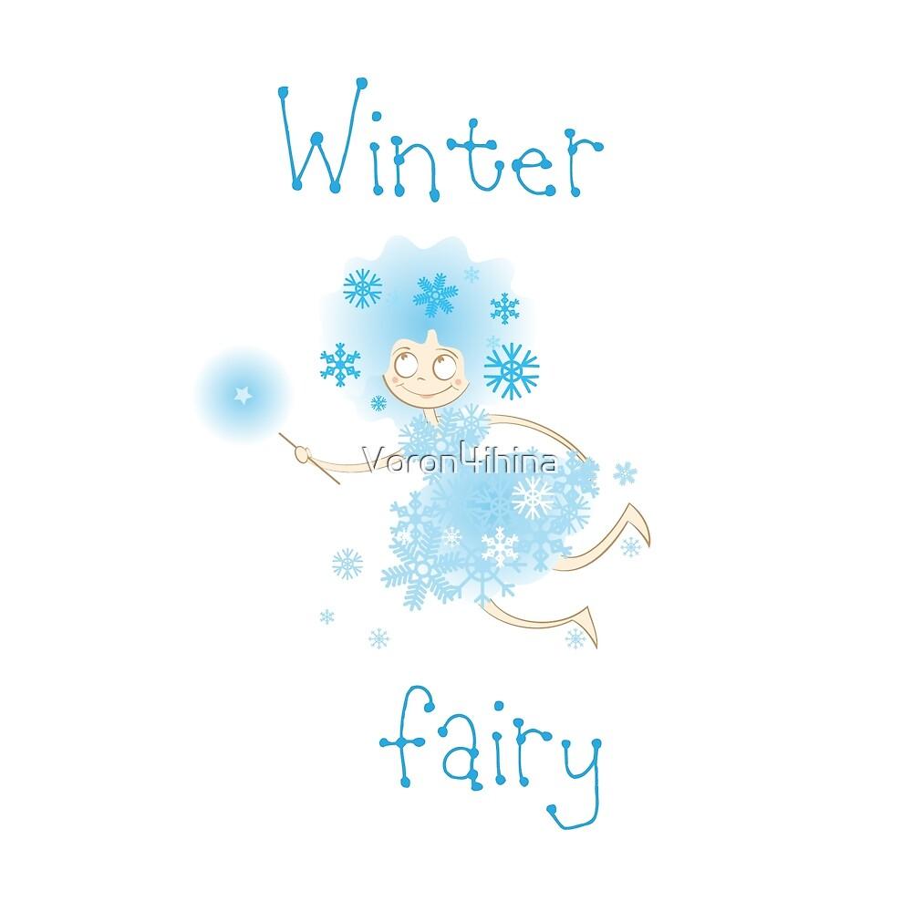 Winter fairy. by Voron4ihina