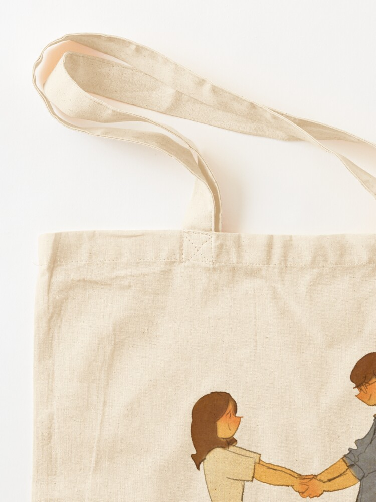 Alternate view of Hold my hands Tote Bag
