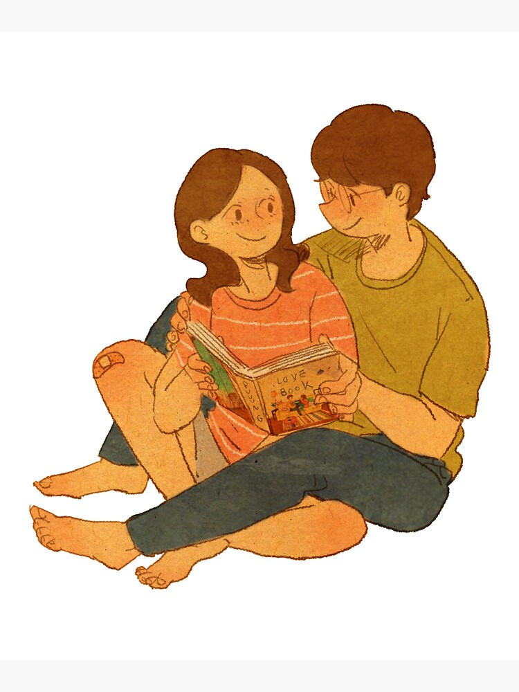 We're reading the Love Book by puuung1