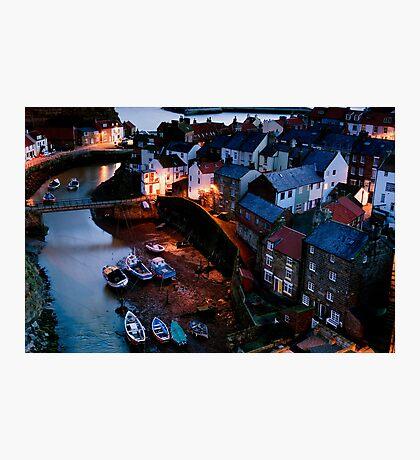 Staithes Village Yorkshire Photographic Print