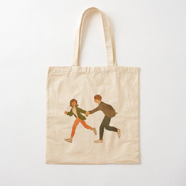 Follow me Cotton Tote Bag
