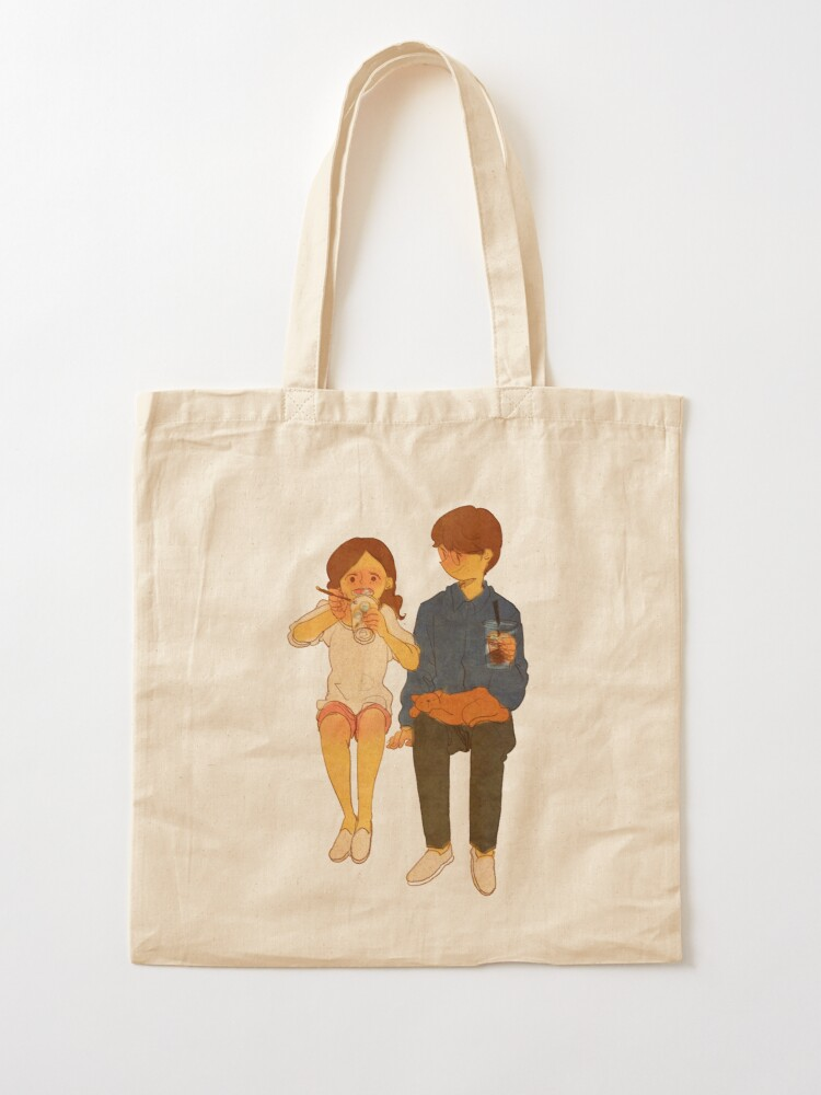 Alternate view of Ice coffee Tote Bag
