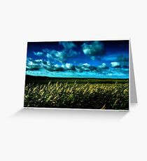 Winter at Salthouse Marsh Greeting Card